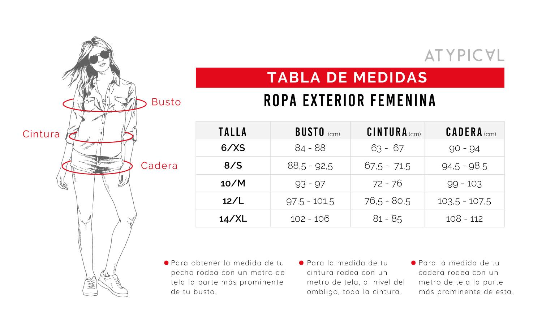 Marketing Personal Guia De Tallas